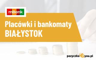 bankomat mbank białystok