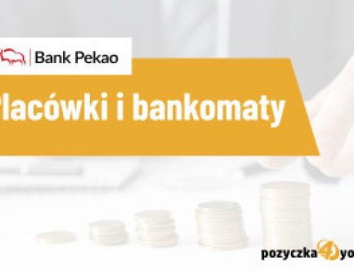 Pekao oddziały i bankomaty