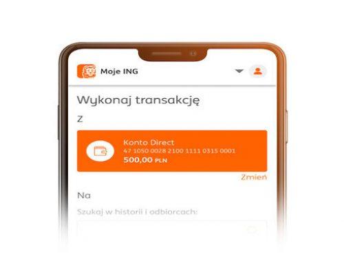 ING aplikacja