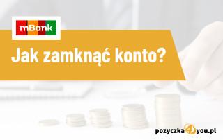 jak zamnkąć konto mbank