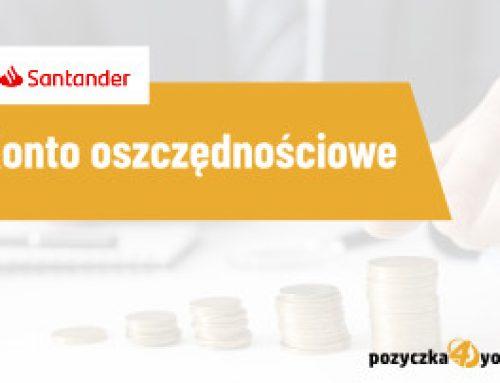 Konto oszczędnościowe Santander