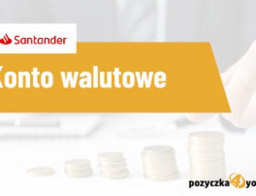 Konto walutowe Santander